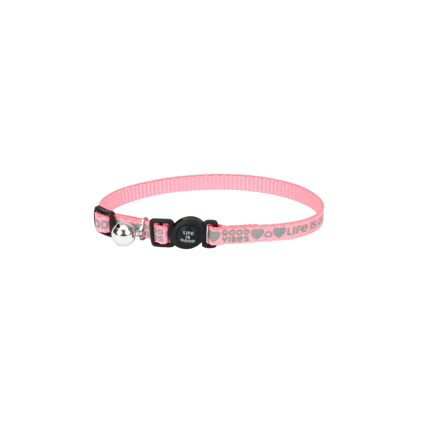 Life is Good® Reflective Adjustable Cat Collar