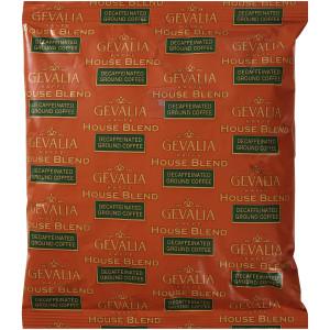 GEVALIA House Blend Decaf Coffee, 8 oz. Bag (Pack of 20) image