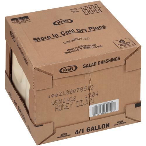 KRAFT Signature Honey Dijon Dressing, 1 gal. Jugs (Pack of 4)
