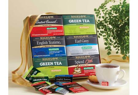 Bigelow Decaffeinated Tea Collection - total of 120 teabags