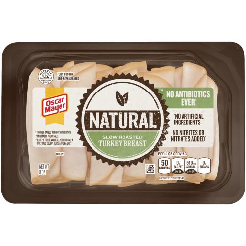 Oscar Mayer Natural Slow Roasted Turkey Breast Tray, 8 oz