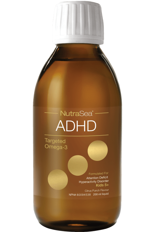 NutraSea ADHD Targeted Omega-3, Citrus Punch