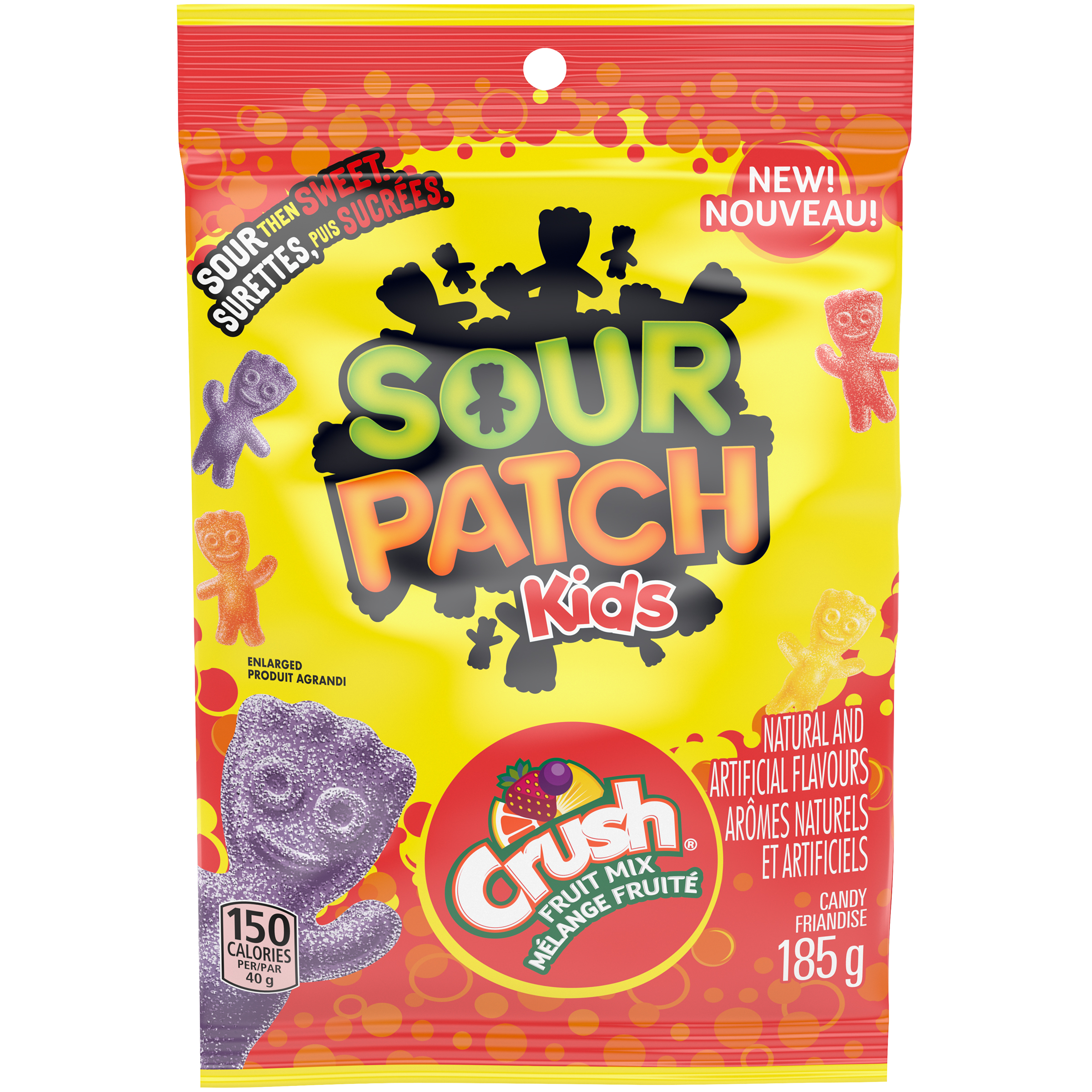MAYNARDS Sour Patch Kids ASSORTED CRUSH 185 GR