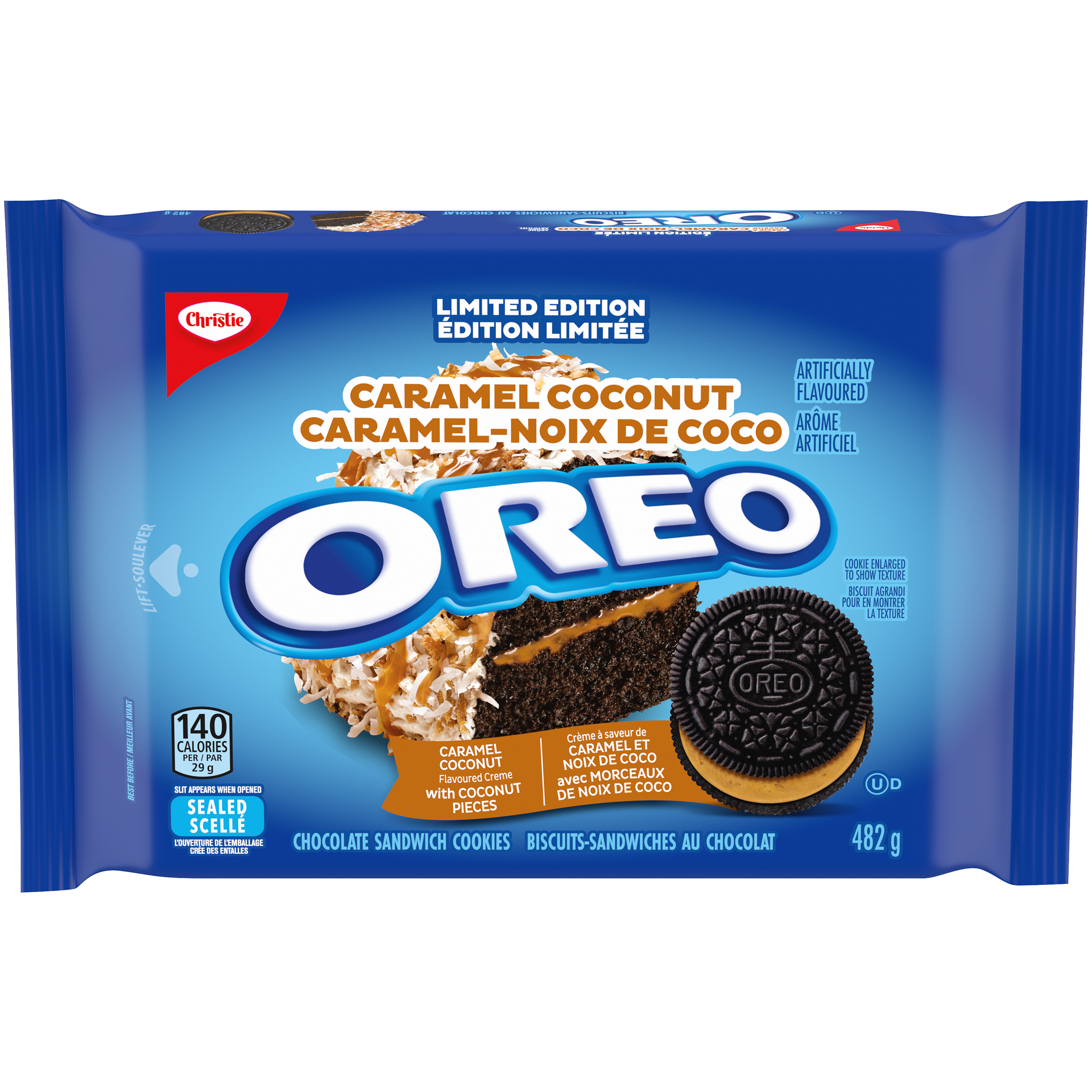 Oreo Caramel Coconut Cookies 482 G