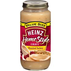 Heinz HomeStyle Roasted Turkey Gravy 18 oz. Jar image