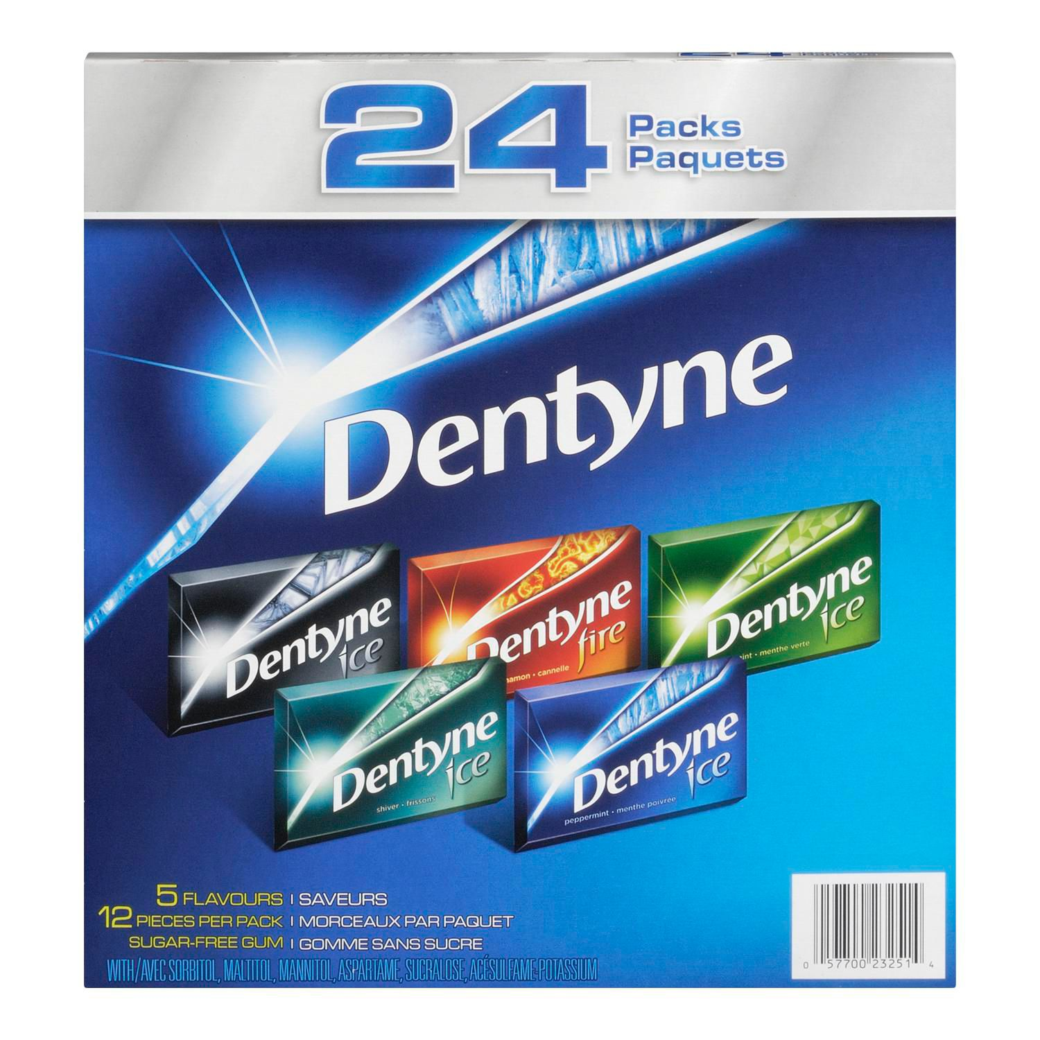 DENTYNE Ice ASSORTI 24 PK