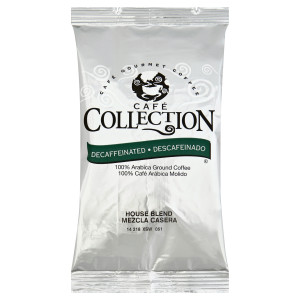 CAFÉ COLLECTIONS House Blend Roast & Ground Coffee, 2 oz. Bag (Pack of 96) image