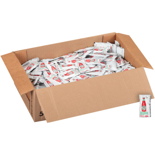 HEINZ Single Serve Ketchup, 11 gr. Packets (Pack of 500)