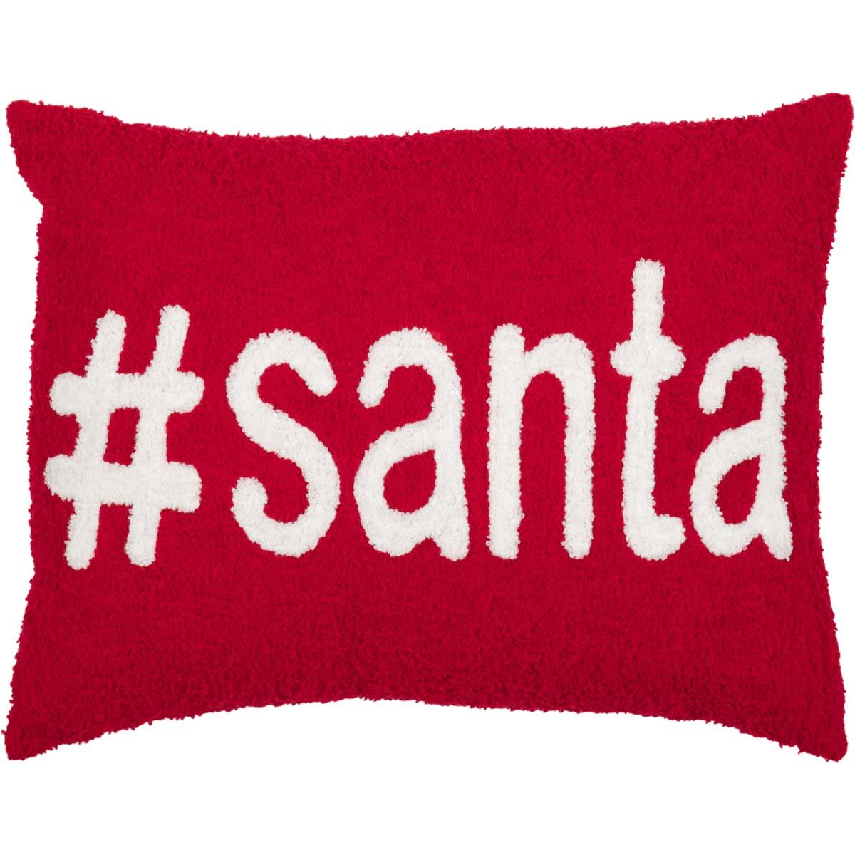 #Santa Pillow 14x18