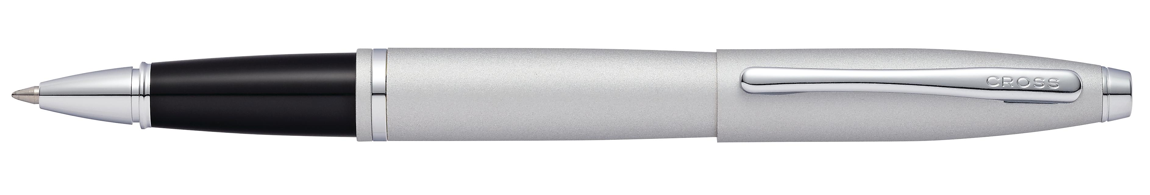 Cross Calais Satin Chrome Rollerball Pen - self-server packaging