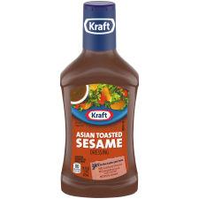 Kraft Asian Sesame Dressing, 16 fl oz Bottle