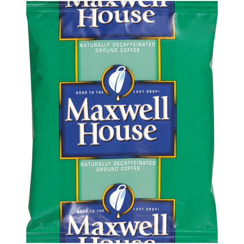 MAXWELL HOUSE Decaffeinated Roast & Ground Coffee, 1.1 oz. Packets (Pack of 42)