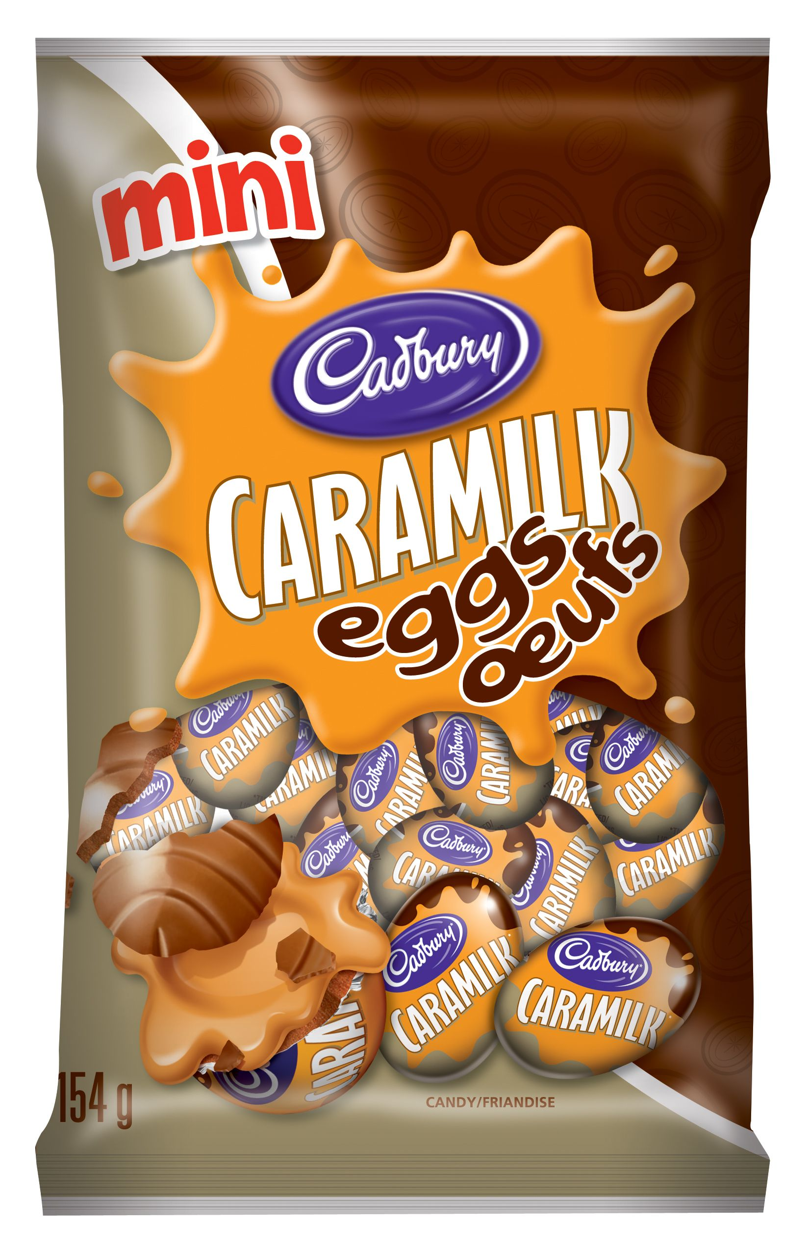 CARAMILK  MINI EGGS 154 GRM