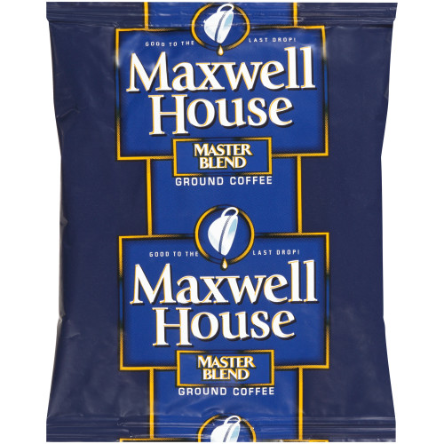 MAXWELL HOUSE Master Blend Ground Coffee, 1.25 oz. Packets (Pack of 42)