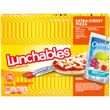 Oscar Mayer Lunchables Extra Cheese Pizza 10.6 oz Box