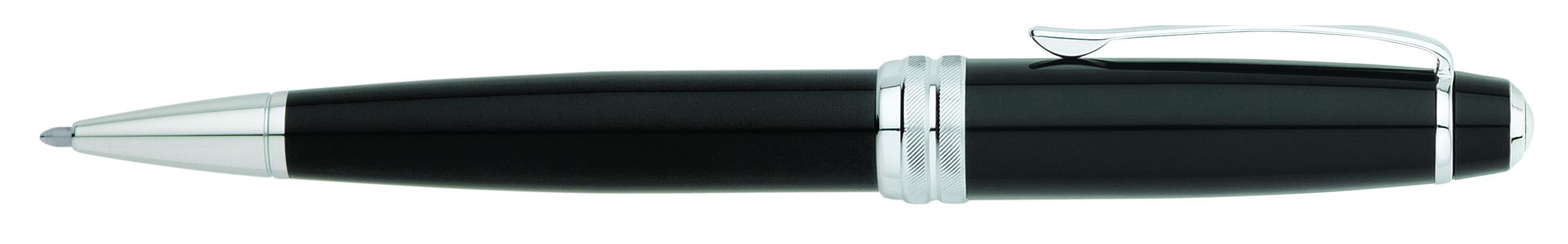 Bailey Black Lacquer Ballpoint Pen (self-serve box)