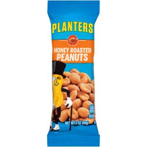PLANTERS Honey Roasted Peanuts, 2 oz. Single Serve (Pack of 144) image