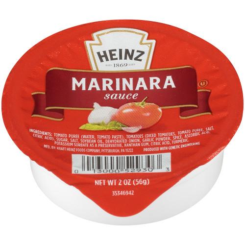 HEINZ Single Serve Marinara Sauce, 2 oz. Cups (Pack of 60)