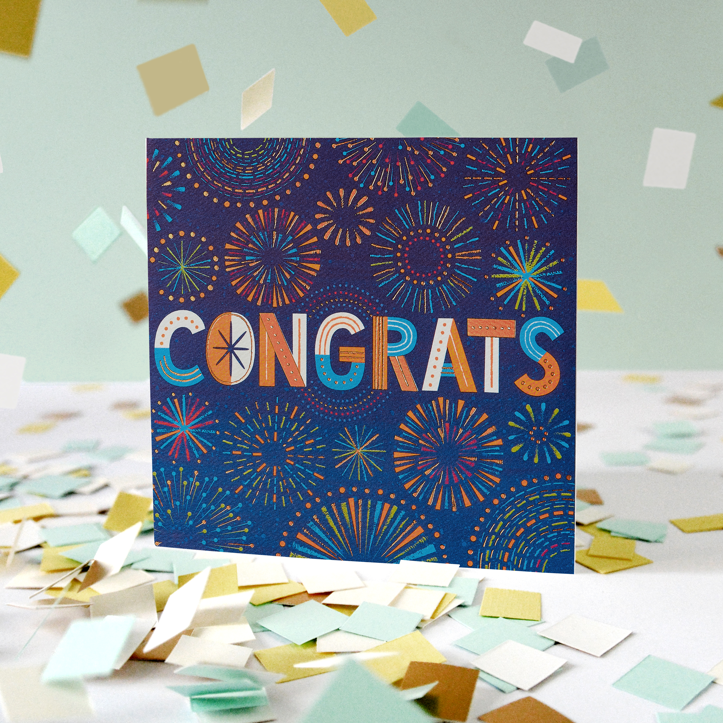 Congrats Greeting Card - Congratulations, Graduation, New Job, Promotion, Encouragement image