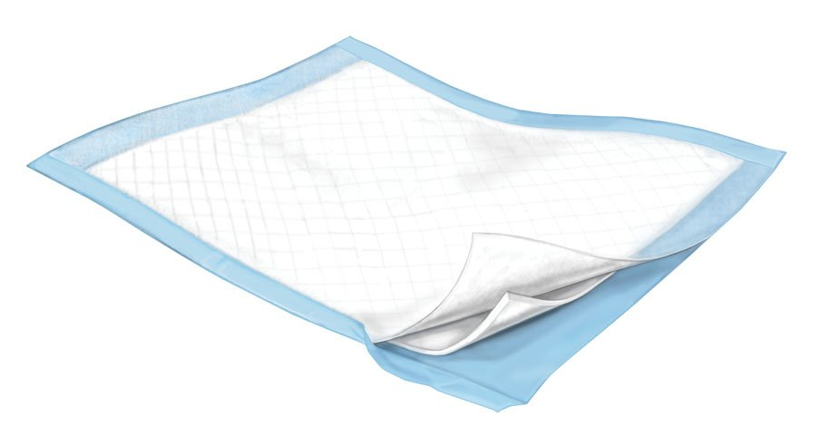 Simplicity Underpad 23 X 24 Inch Disposable Fluff Light Absorbency, 7136 - Pack of 10