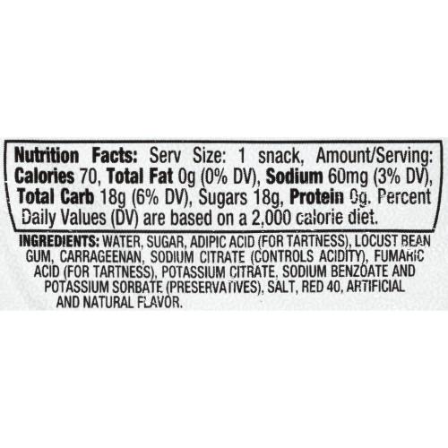 KOOL-AID Strawberry Gels, 3.5 oz. Cups (4/12 Count)