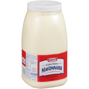 KRAFT Extra Heavy Mayonnaise, 1 gal. Jugs (Pack of 4) image