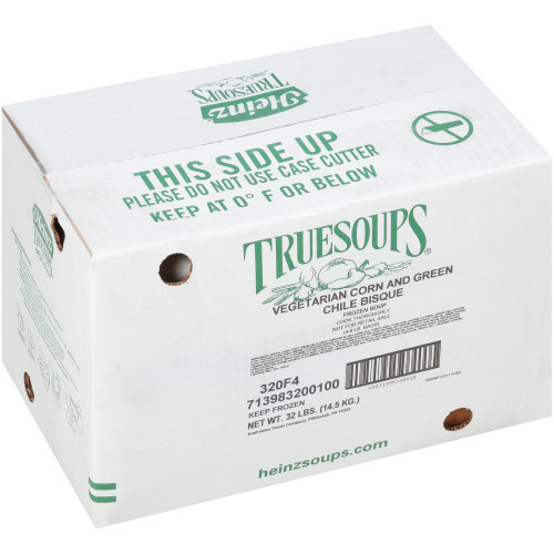 HEINZ TRUESOUPS Corn & Green Chile Bisque Soup, 8 lb. Bag (Pack of 4)