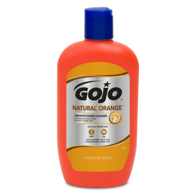 GOJO® NATURAL* ORANGE™ Smooth Hand Cleaner