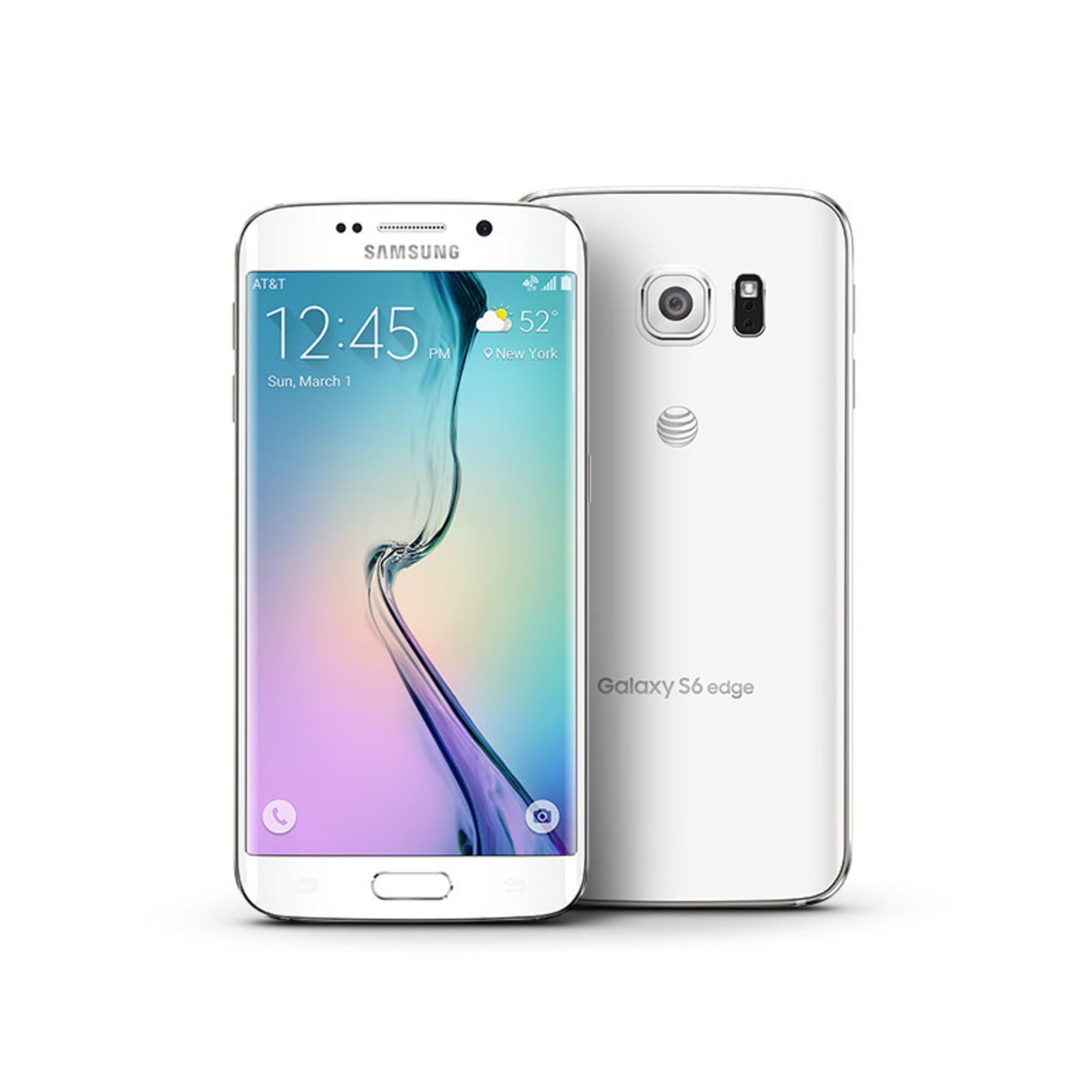 samsung galaxy s6 edge 32gb unlocked gsm lte 16mp phone certified refurbished ebay. Black Bedroom Furniture Sets. Home Design Ideas
