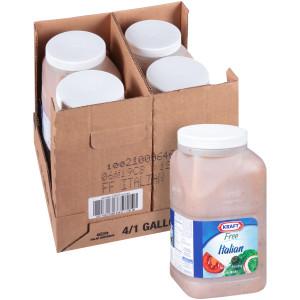 KRAFT Bulk Fat-Free Italian Island Salad Dressing, 1 gal. Jug (Pack of 4) image