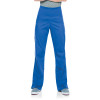 Landau ProFlex PWRcor Compression Waist Cargo Scrub Pants for Women: Modern Tailored Fit, Straight Leg, Stretch 2045-Landau