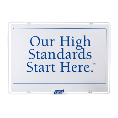 Wipes Station Sign - Our High Standards
