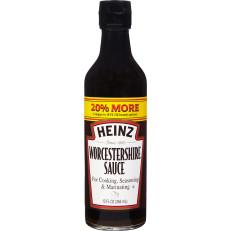 Heinz Worcestershire Sauce, 12 fl oz Bottle image