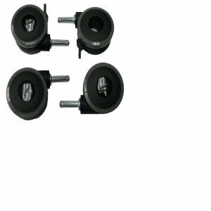 Invacare Casters, Set of 4