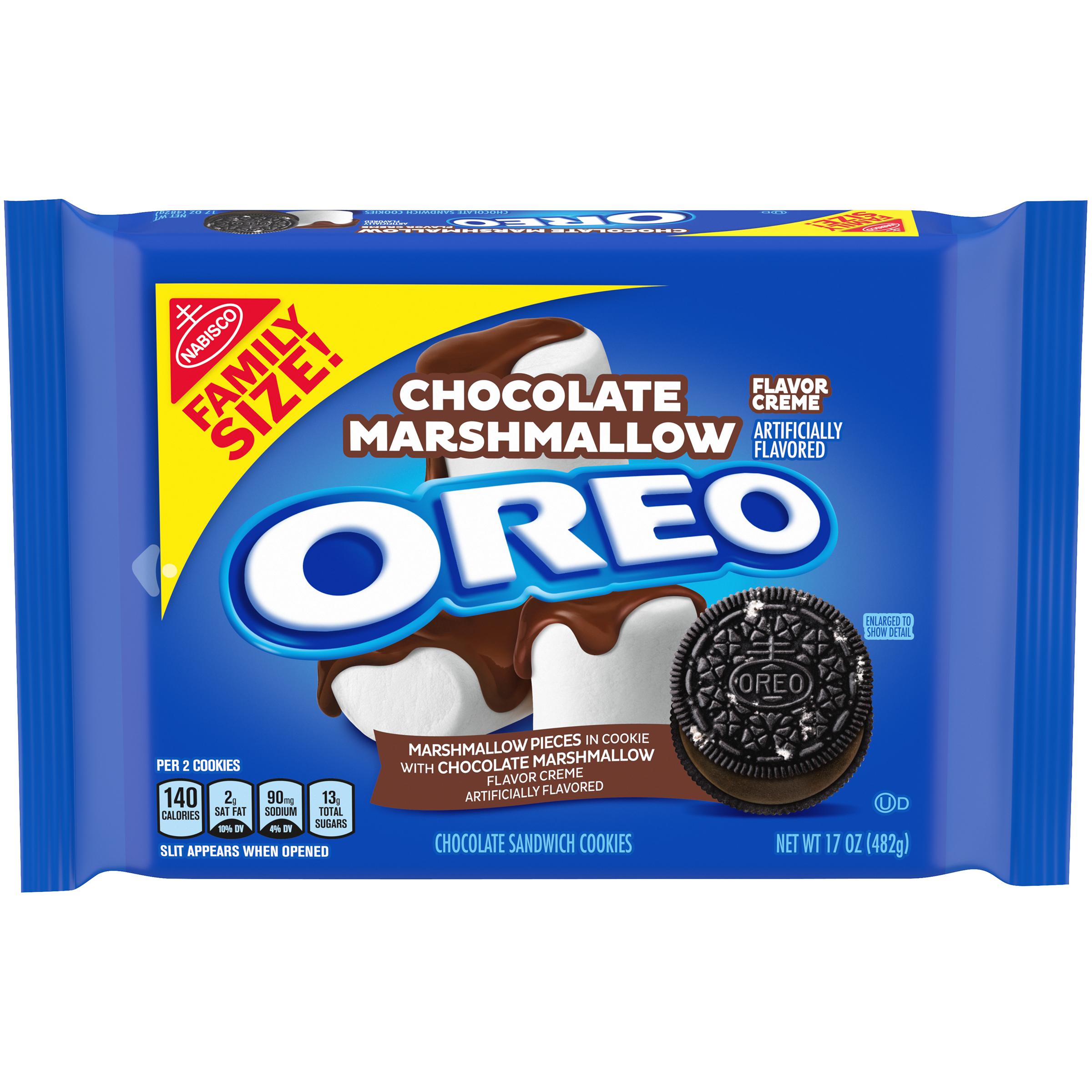 OREO Chocolate Marshmallow Sandwich Cookies 17 oz