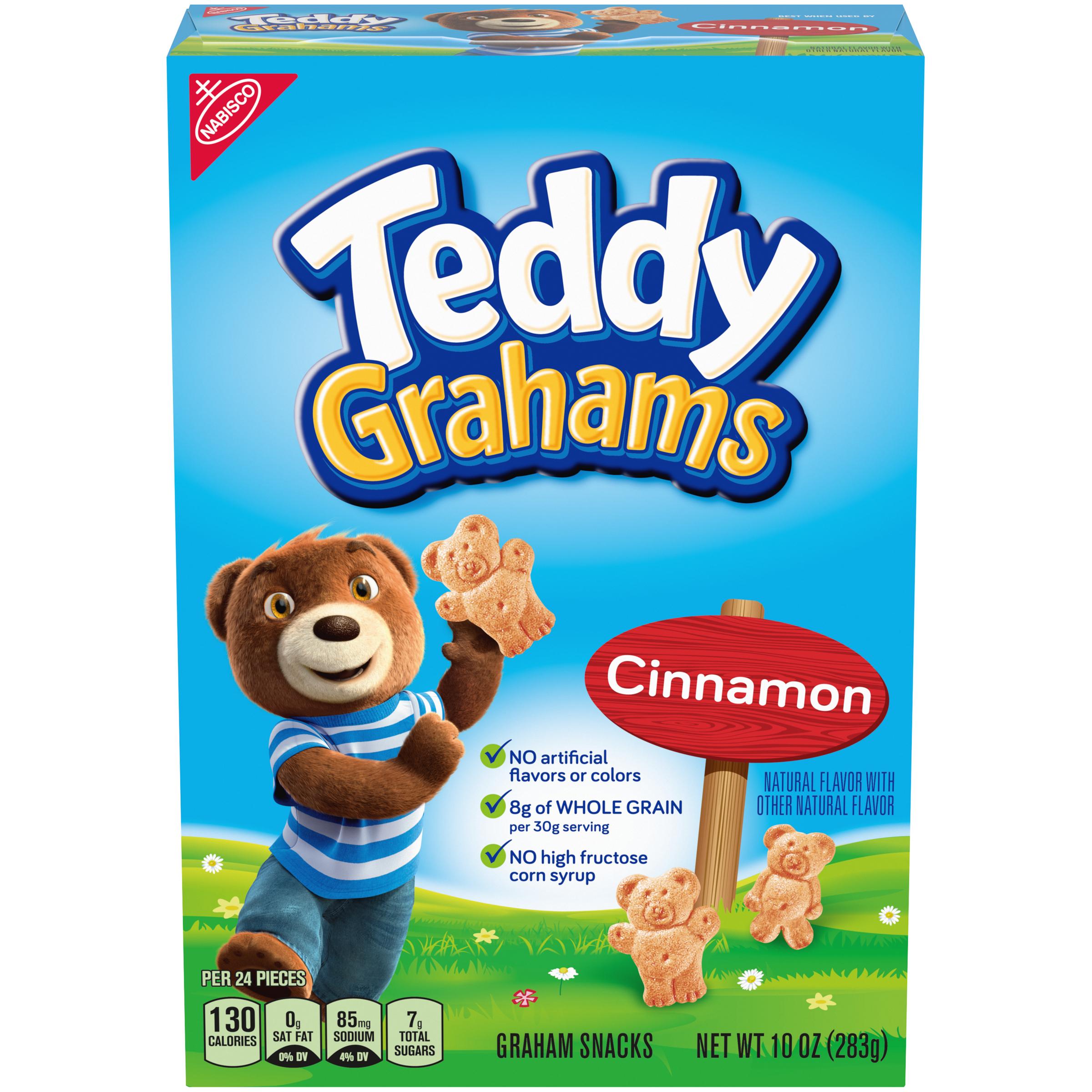 TEDDY GRAHAMS Cinnamon Cookies 10 oz