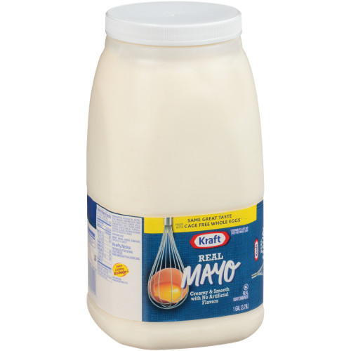 KRAFT Bulk Mayonnaise, 1 gal. Jug (Pack of 4)