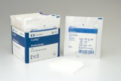 Curity NonWoven Sponge Polyester / Rayon 6-Ply 4 X 4 Inch Square Sterile, 7084- - Pack of 25