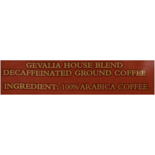 GEVALIA House Blend Decaf Coffee, 8 oz. Bag (Pack of 20)