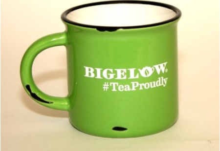 Green  #TeaProudly Mug - 15 oz.