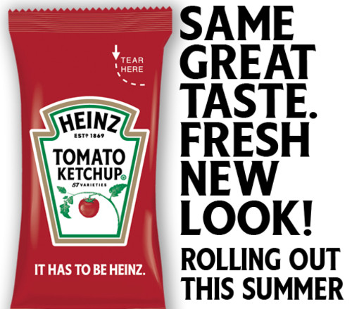 Heinz Tomato Ketchup, 750 ct Casepack