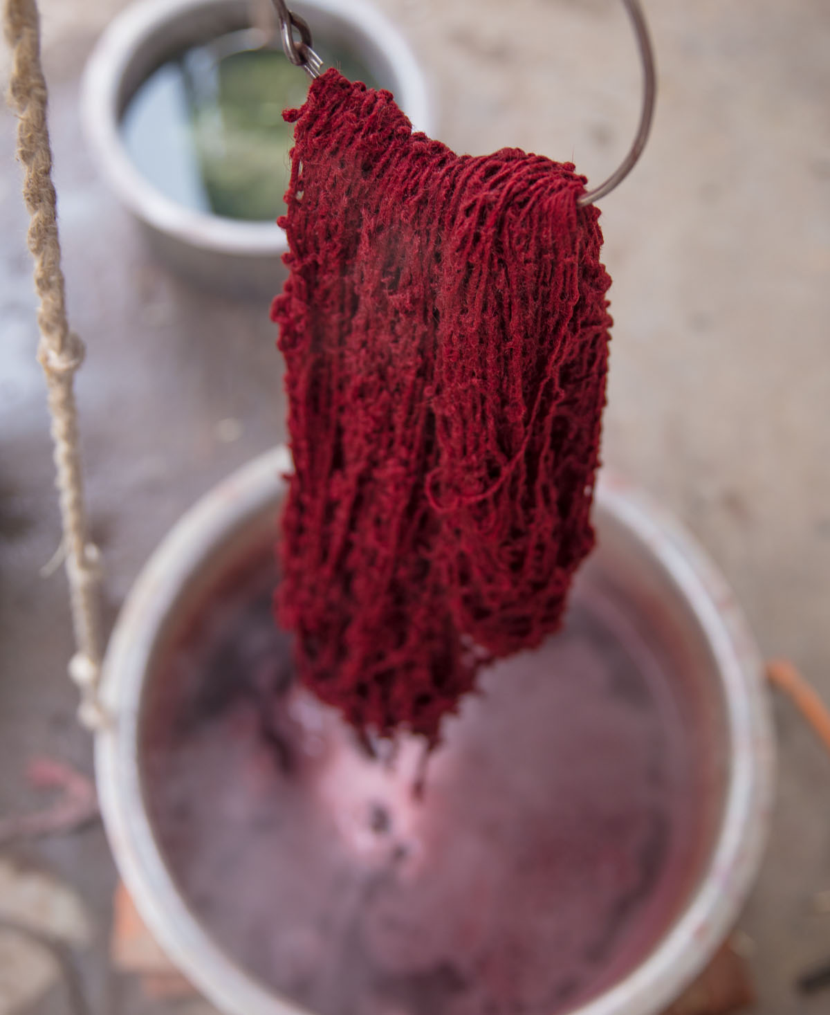 Dyed using traditional techniques