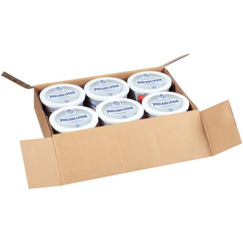 PHILADELPHIA Strawberry Cream Cheese Spread, 3 lb. Tub (Pack of 6)