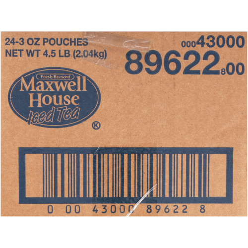 MAXWELL HOUSE Loose Iced Tea, 3 oz. Bags (Pack of 24)
