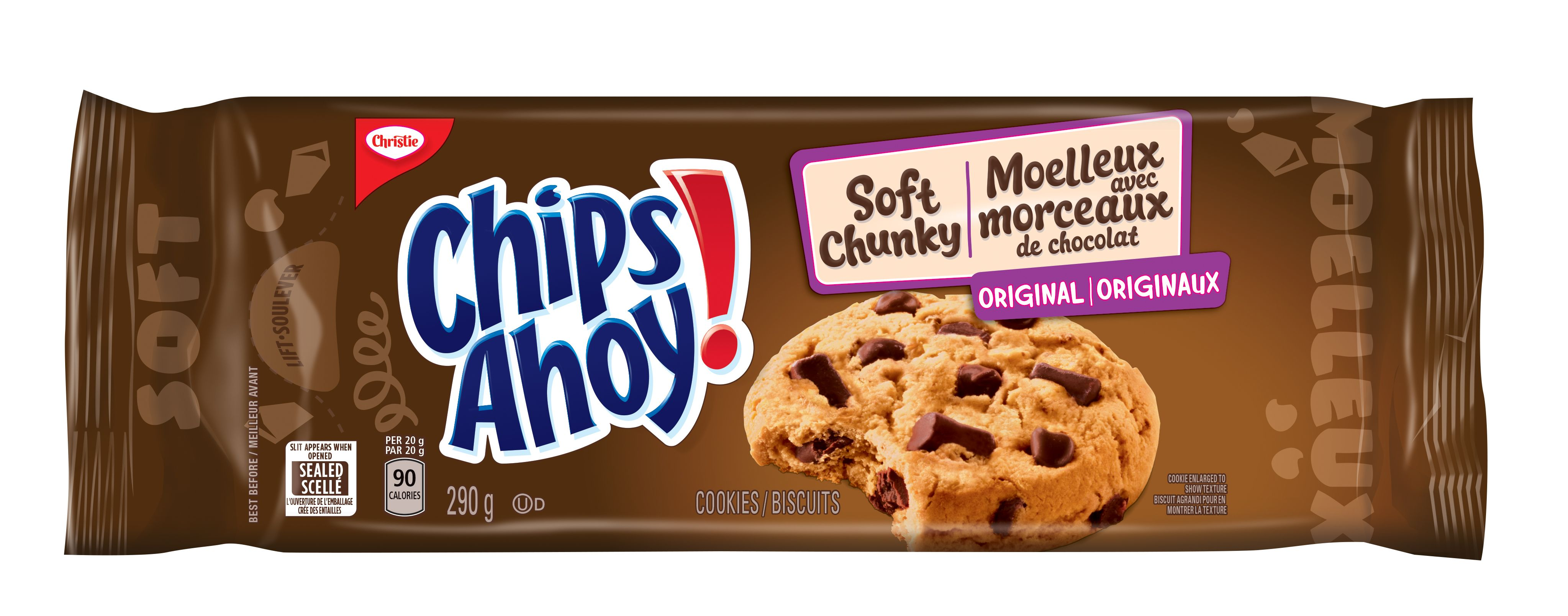 Chips Ahoy! Soft Chunky Original Biscuits 290 G