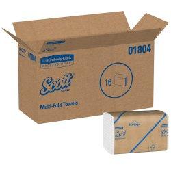 Scott Paper Towel Multi-Fold 9-1/4 X 9-1/2 Inch, 01804 - Case of 4000