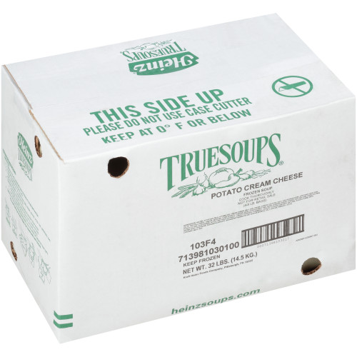 HEINZ TRUESOUPS Potato & Cream Cheese Soup, 8 lb. Bag (Pack of 4)