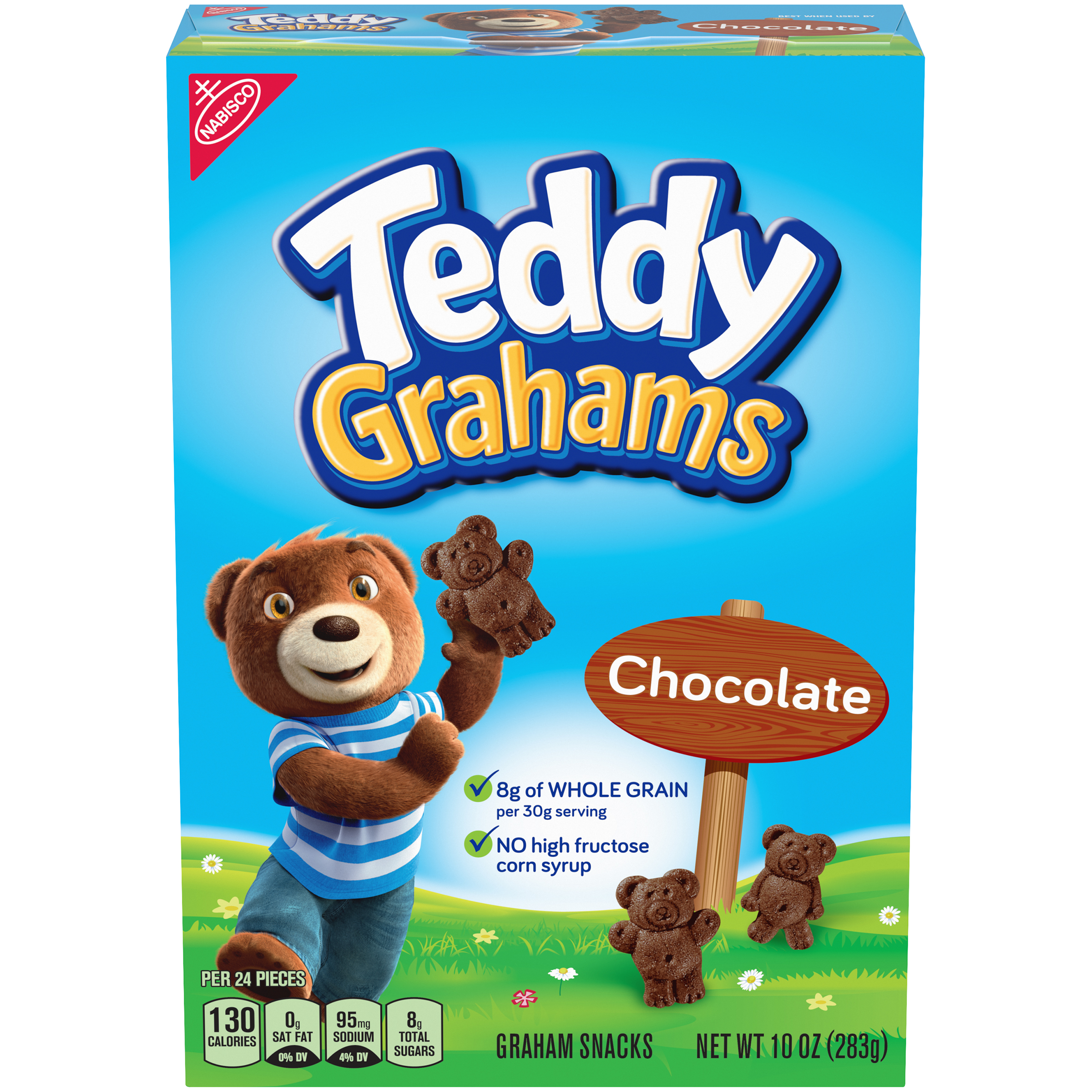 TEDDY GRAHAMS Chocolate Cookies 10 oz