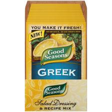 Good Seasons Greek Dressing & Recipe Mix 0.7 oz Envelope