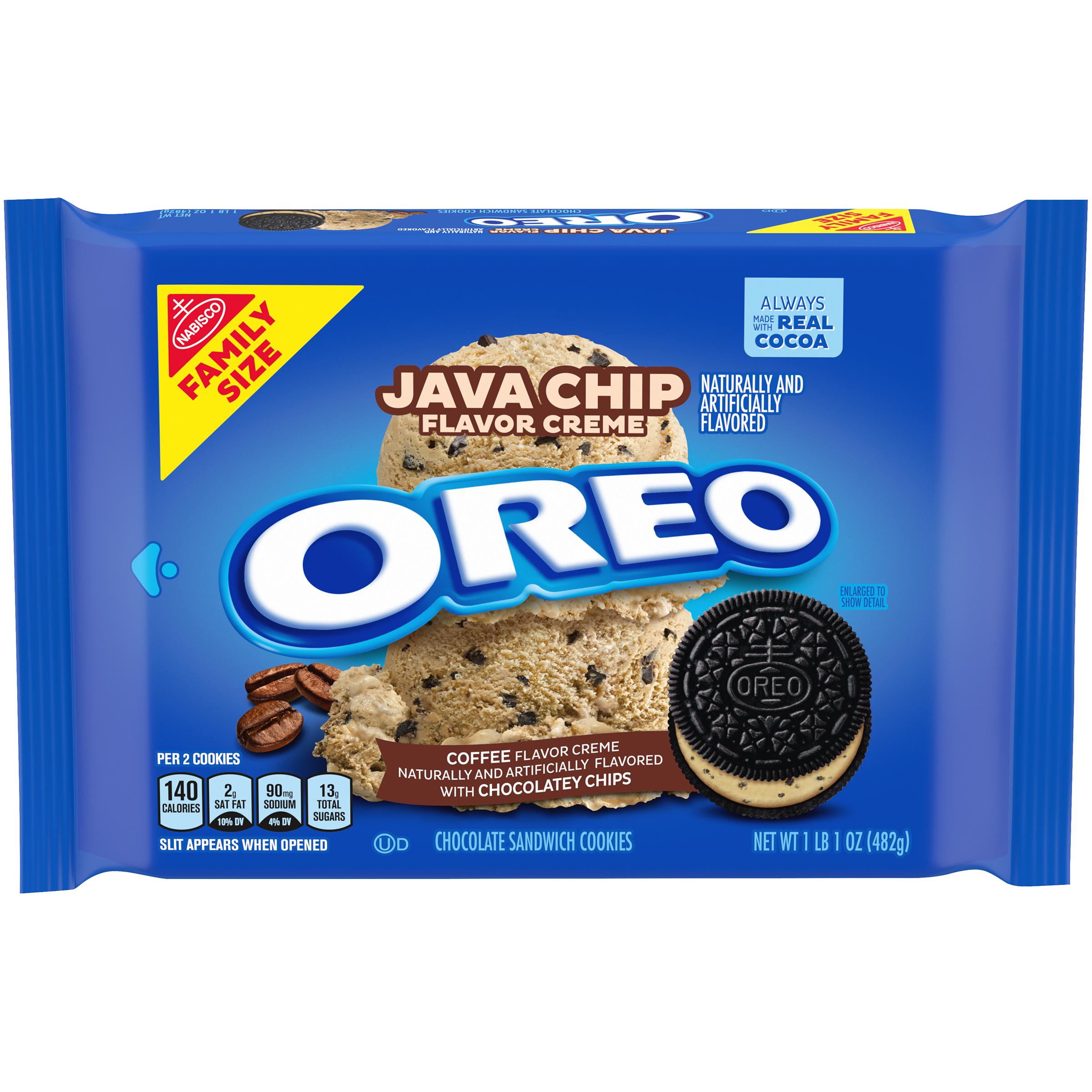 OREO Java Chip Sandwich Cookies 17.0 Oz